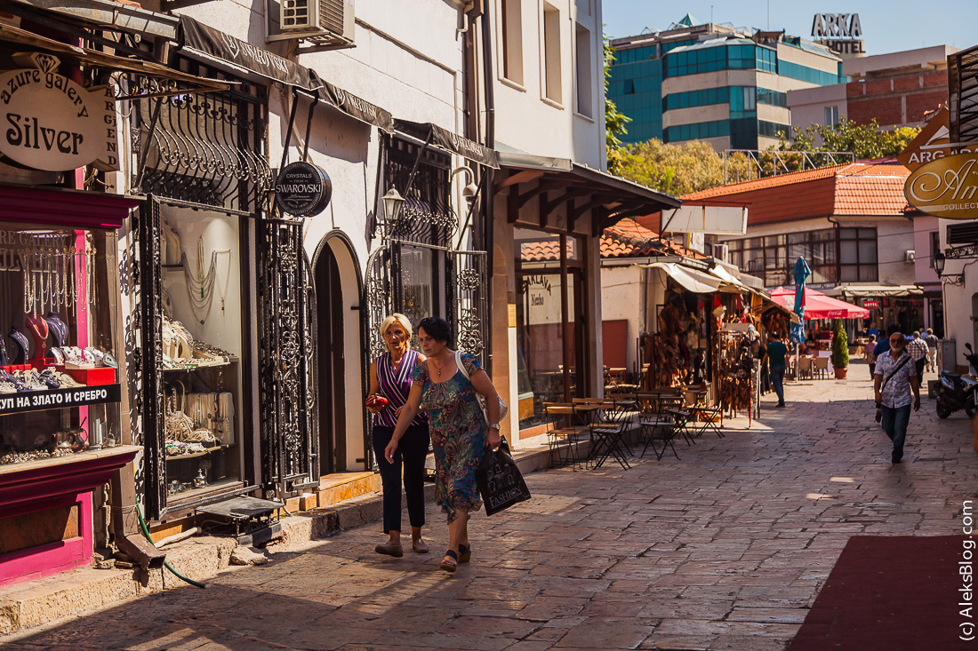 Скопье Старая Чаршия