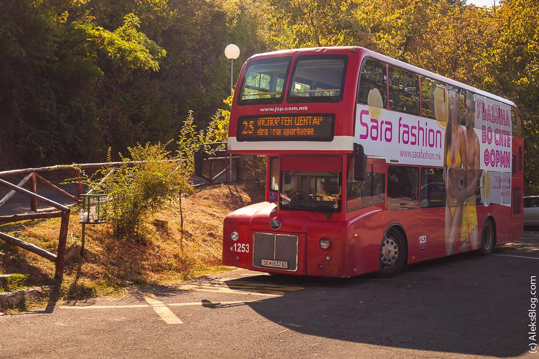 автобусы в Скопье