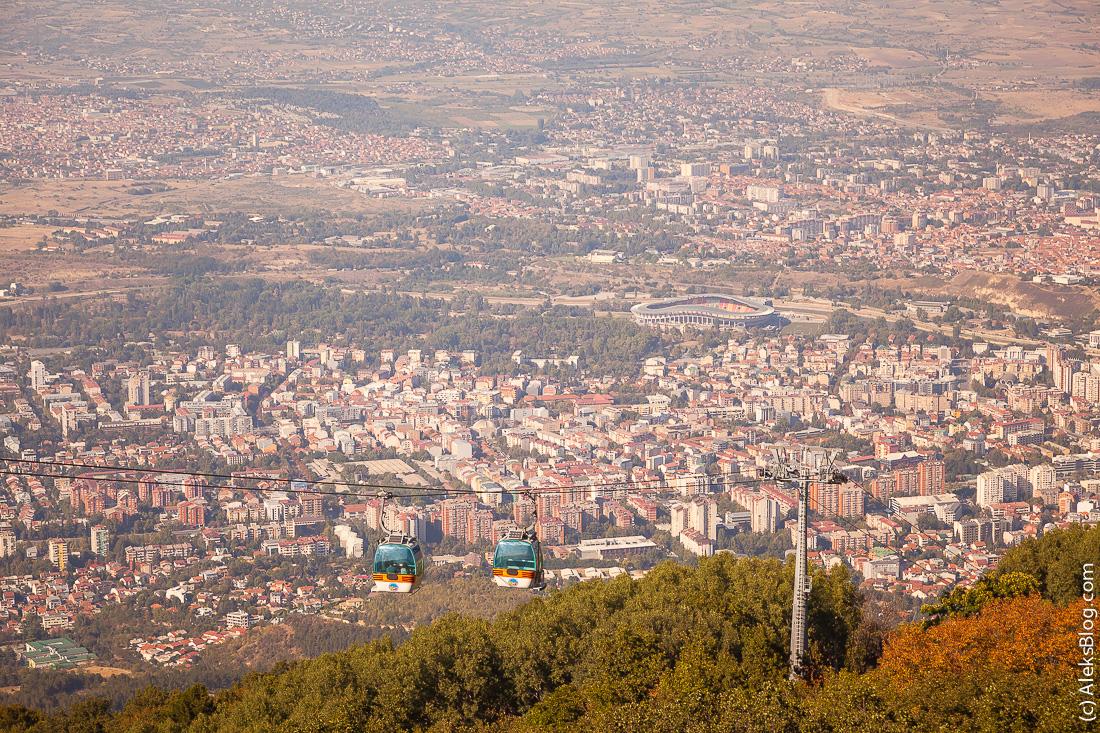 Скопье крест Тысячелетие