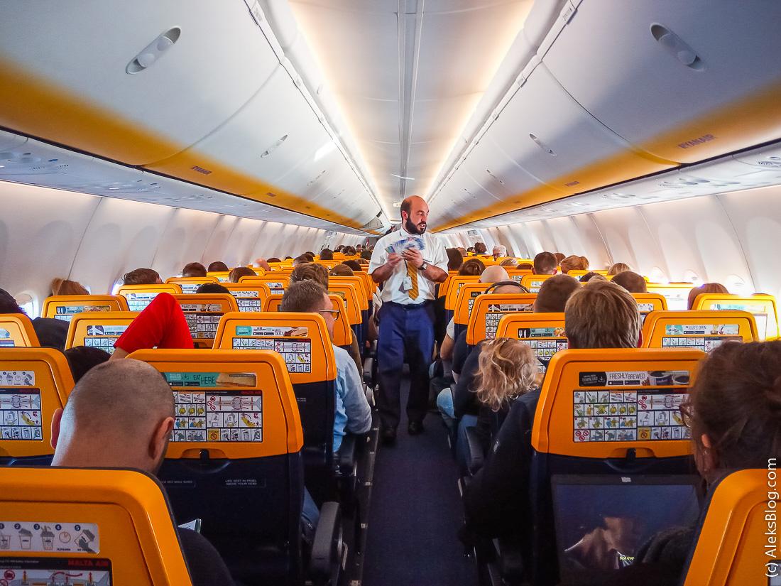 Ryanair салон