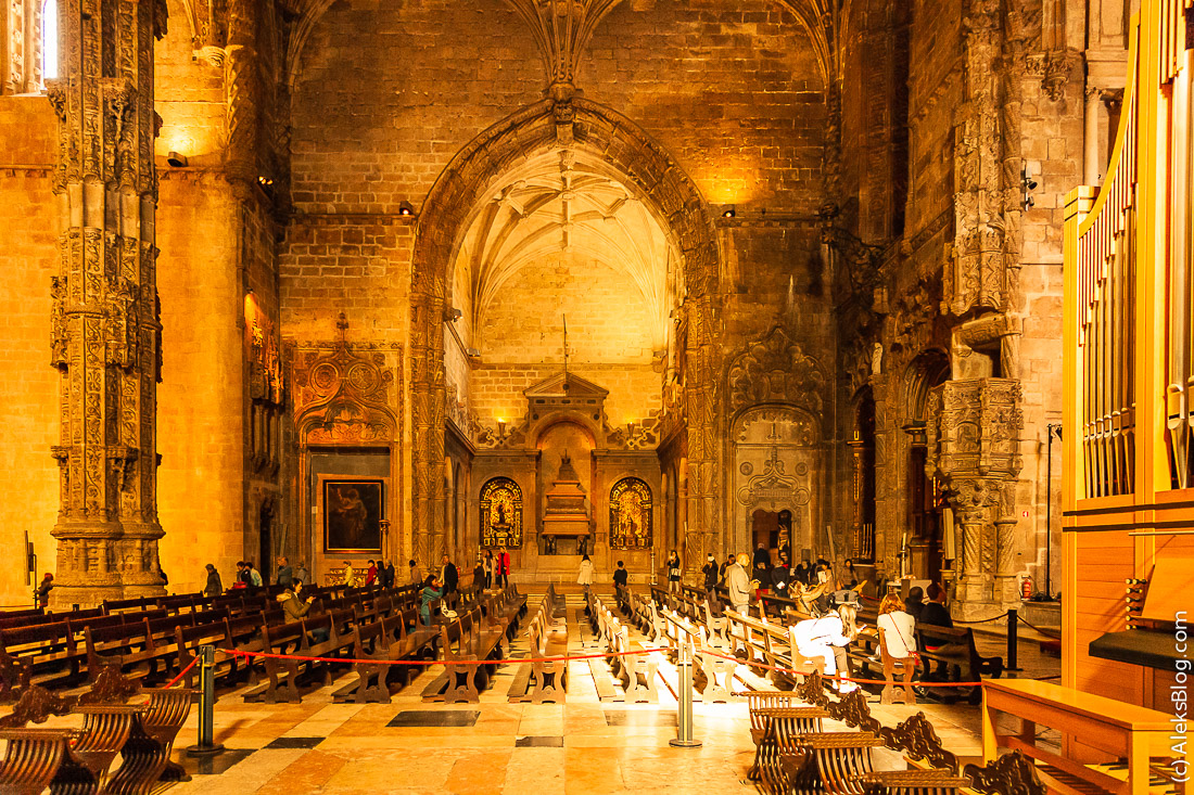 монастырь Жеронимуш Лиссабон