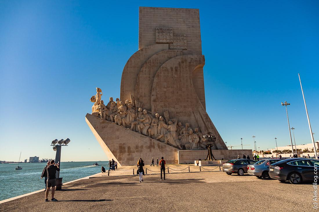 Лиссабон памятник Первооткрывателям
