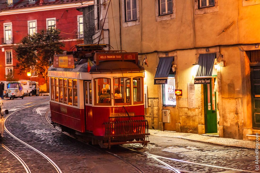 Лиссабон трамвай