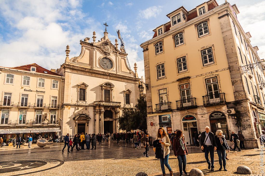 Лиссабон церковь Святого Доминика