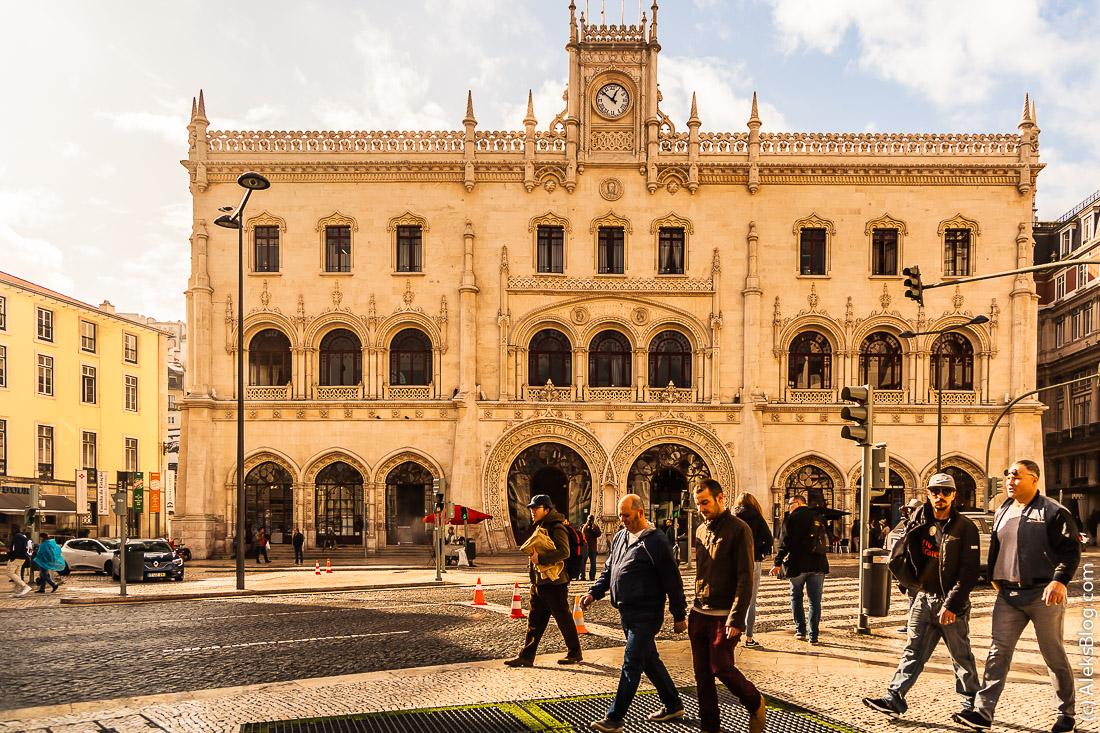 Лиссабон вокзал Россио