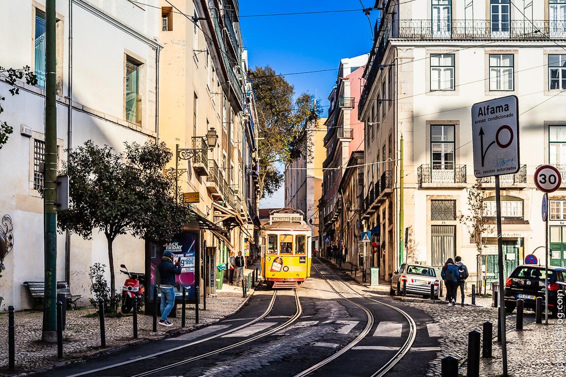 Лиссабон район Алфама
