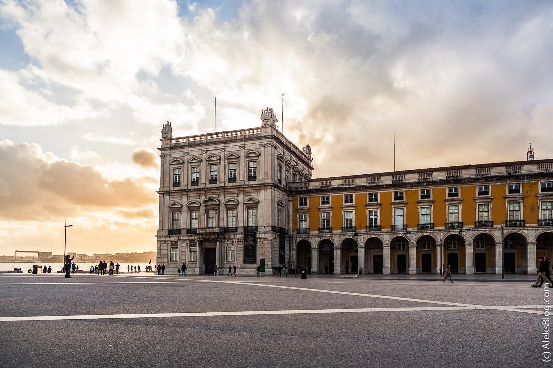 Лиссабон площадь Коммерции