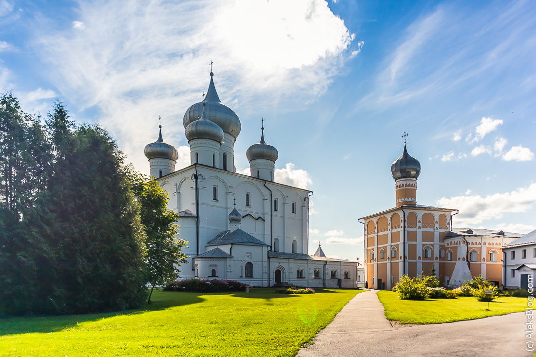 Хутынский Спасо-Преображенский монастырь
