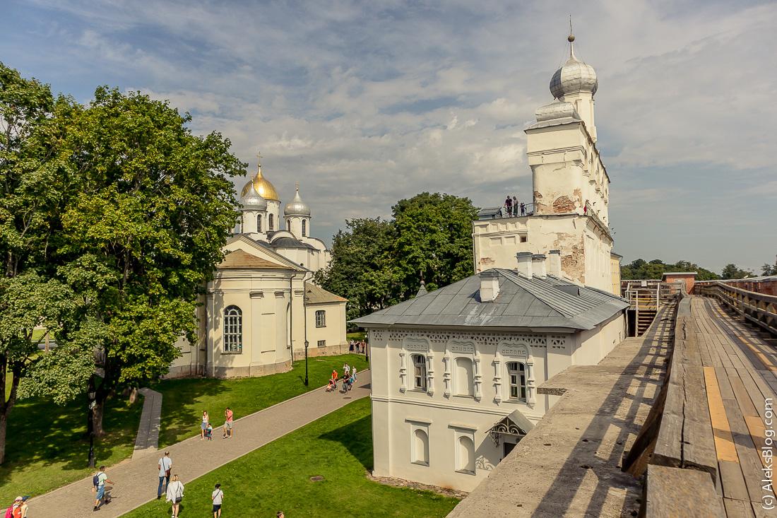 Звонница Софийский собор Великий Новгород