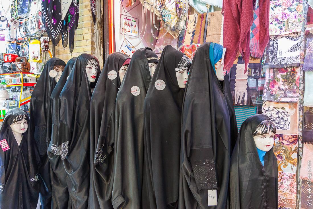 Манекены в Иране