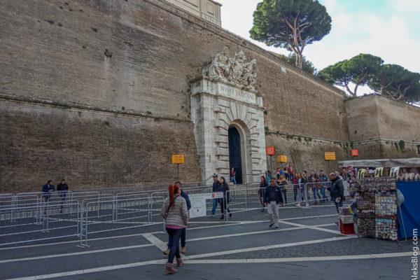 Музеи Ватикана очереди
