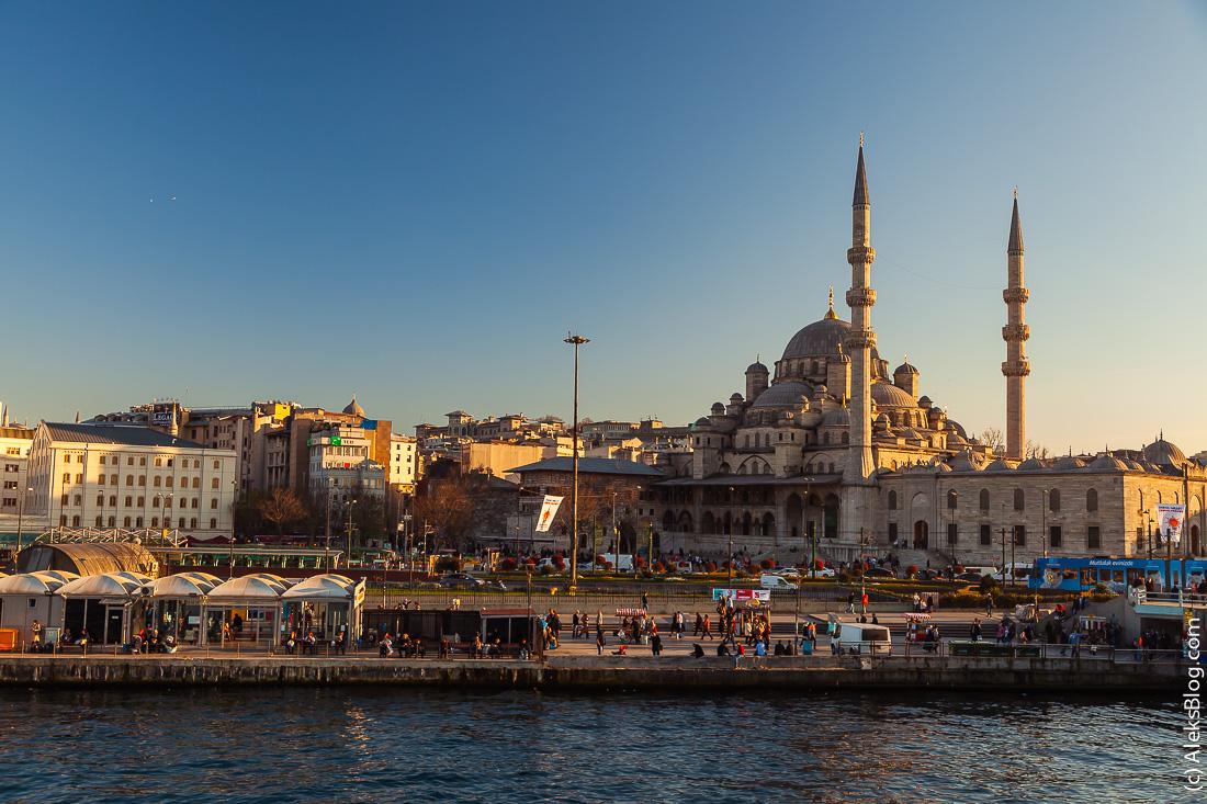 Стамбул Новая мечеть