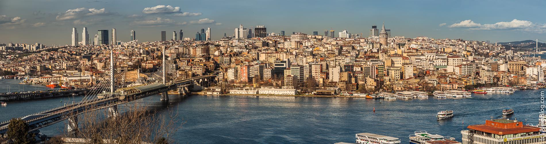Стамбул смотровая площадка