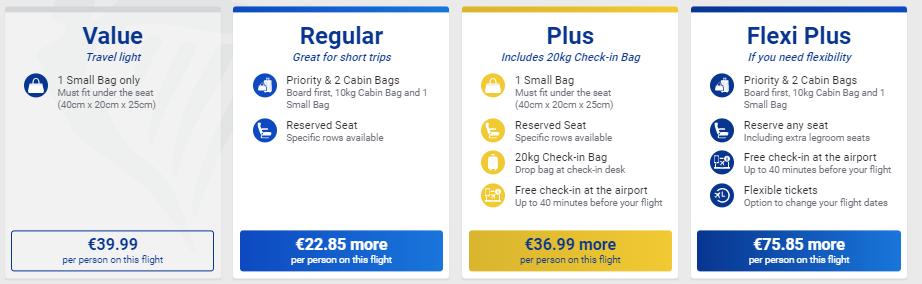 билеты Ryanair