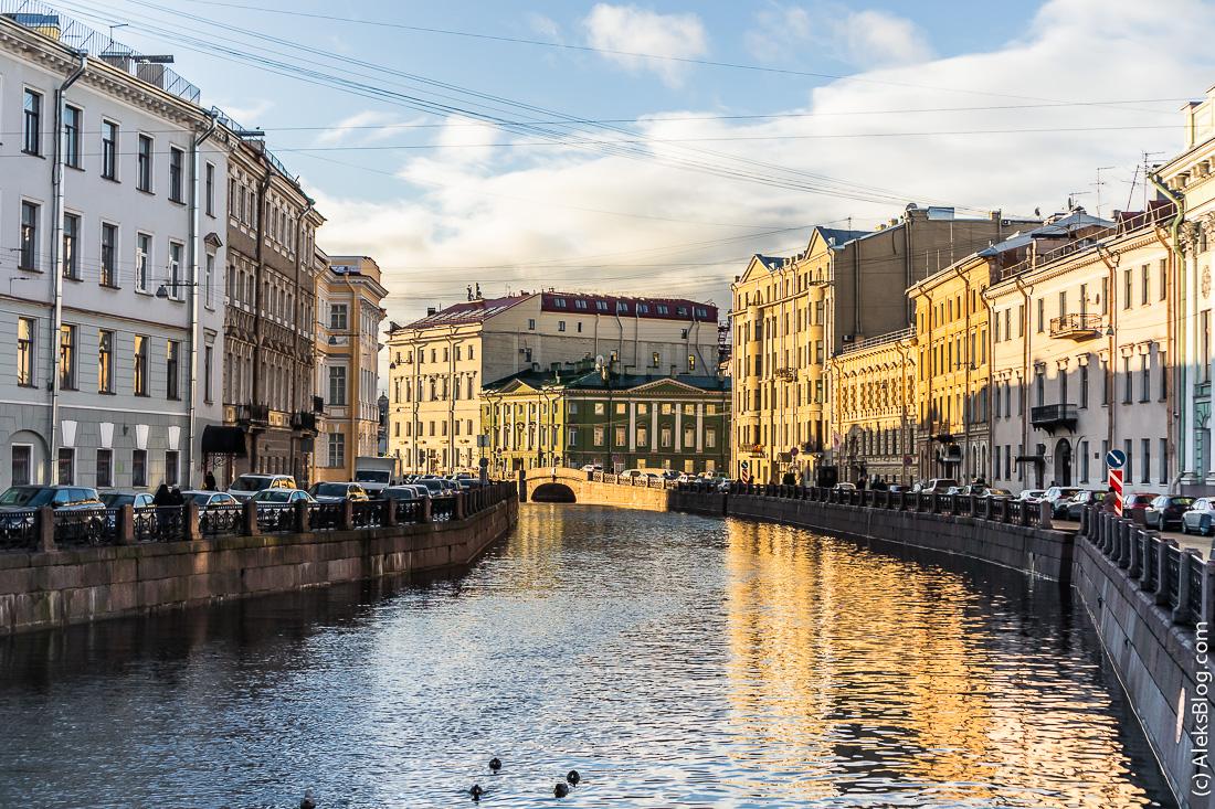 Санкт-Петербург набережная Мойки