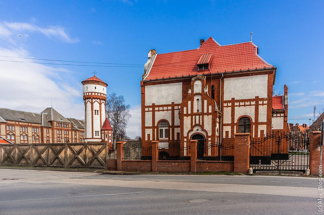 Балтийск пехотные казармы