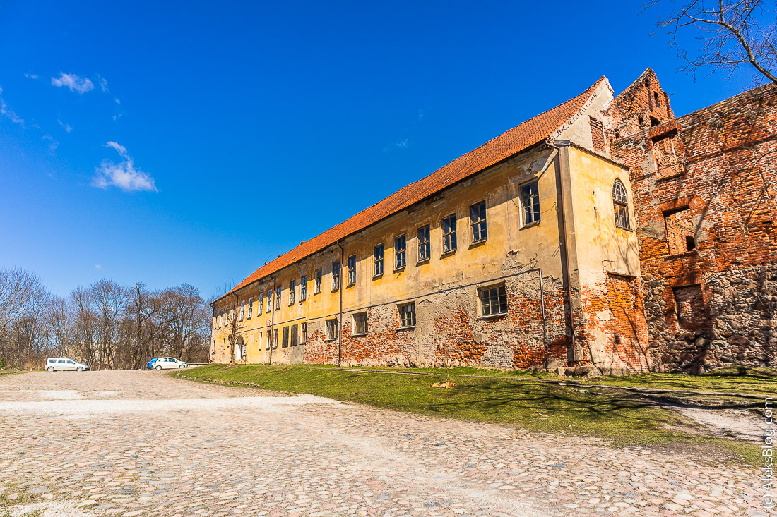 Черняховск замок Инстербург