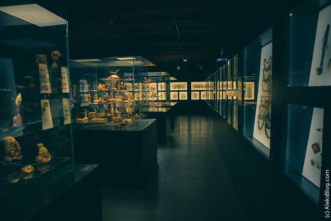 Янтарный комбинат музей