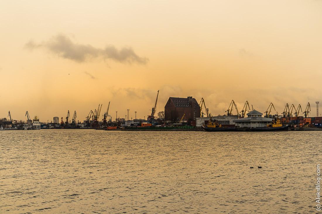 Калининград порт