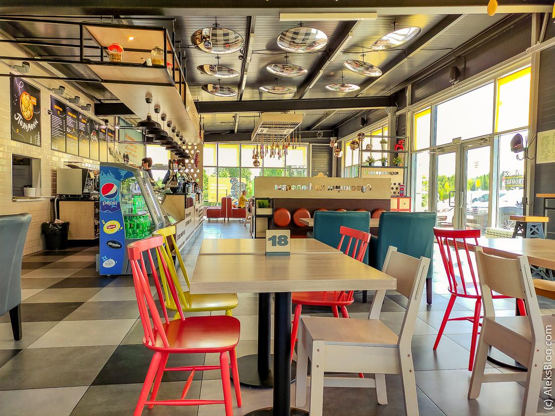 дорожные кафе Баранка