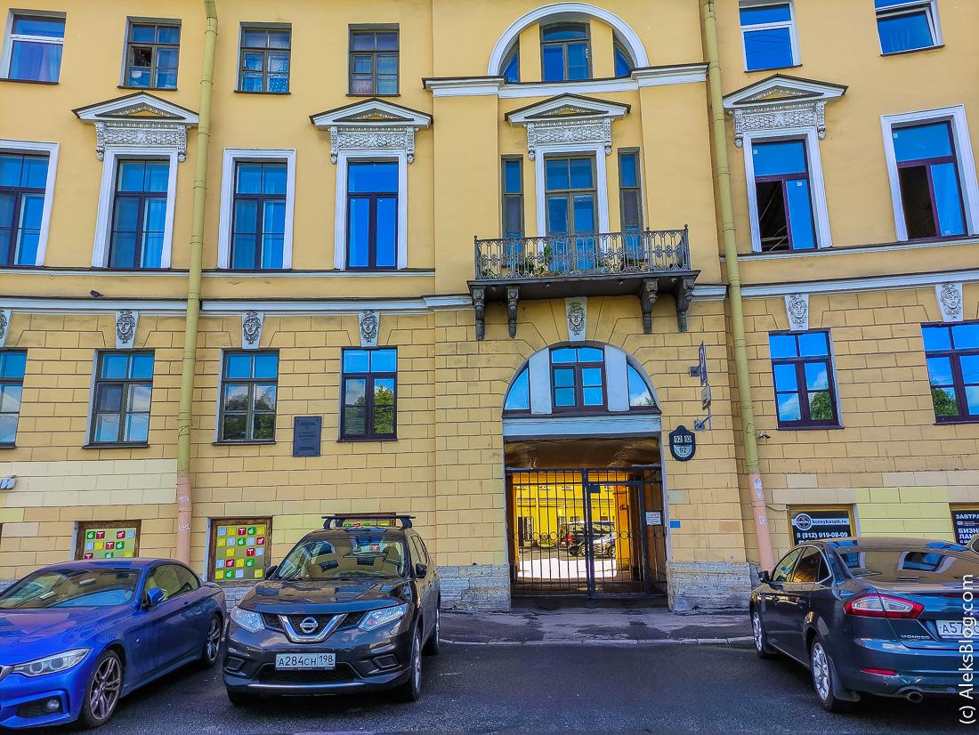 Дом-кольцо в Санкт-Петербурге